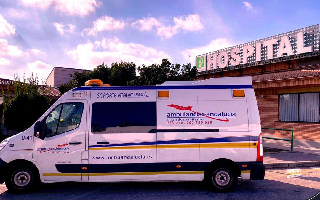 Realizamos traslado de paciente hasta el Hospital Los Madroños